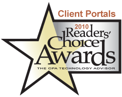 2010 CPA Technology Advisor Readers' Choice Award