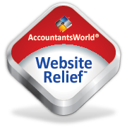 Build your firm's website in just minutes with Website Relief from AccountantsWolrd