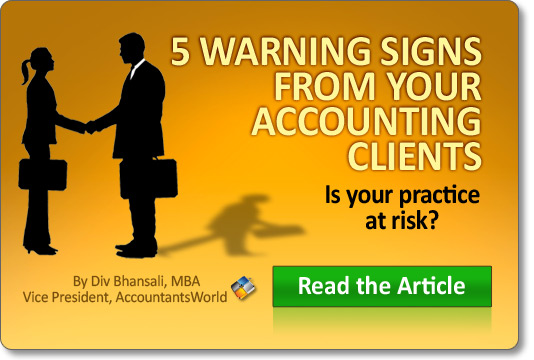5 Warning Signs From Your Accounting Clients.