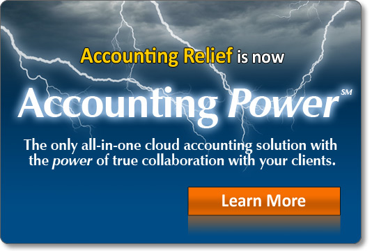 Accounting Relief is now Accounting Power!