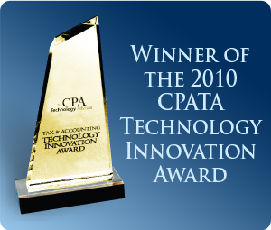 Winner of the CPA Technology Advisor Innovation Award